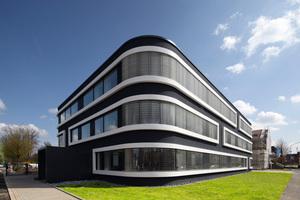 Fassadenpreis 2012, 1. Preis Industrie- und Gewerbebauten: Verwaltungsgebäude Bruchweg in LemgoFoto:Brillux