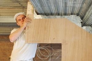 Bei der Sanierung des Bode-Museums in Berlin wurden Deckengewölbe und Gesimse in Rabitz-Technik ausgeführt<br />Fotos: RSM Heitfeld