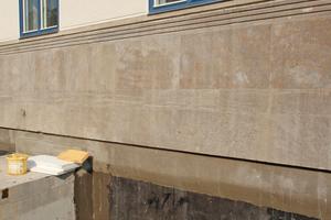 Bauwerksabdichtung der erdberührten Außenwände gegen von außen drückendes Wasser und aufstauendes Sickerwasser