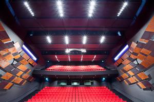 Decke über dem Zuschauersaal<br />