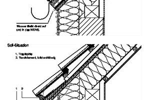 Skizze Dach: Soll
