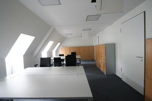Raum im Dachgeschoss nach Abschluss der Umbauarbeiten<br />