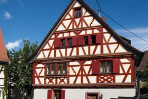 3. Preis Historische Gebäude und Stilfassaden: Saniertes Fachwerkhaus von 1687 in Hirschberg-Großsachsen<br />