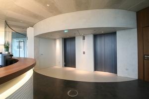 Fahrstuhl im 21 Stock