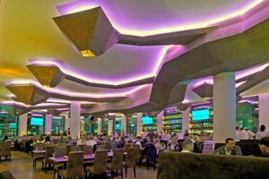 """Sieger der Kategorie Funktion &amp; Design wurde die Malerwerkstätten Heinrich Schmid GmbH &amp; Co. KG aus Pfullingen für H´ugo´s Restaurant Bar Lounge<span class=""""bildnachweis"""">Foto: Jose Arjona</span>"""
