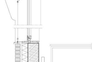 Fensterdetail, Maßstab 1:33 <sup>1</sup>/<sub>3</sub>