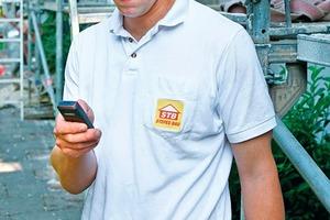 Mobiltelefone können zur Arbeitszeiterfassung ebenso wie zur täglichen Auftragsvergabe an die Mitarbeiter eingesetzt werden<br />