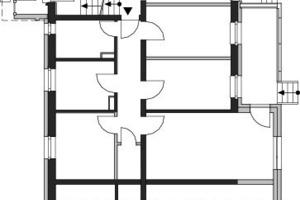 Grundriss mit Erweiterung, Maßstab 1:250