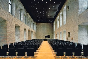 Die Auftaktveranstaltung zum diesjährigen Tag der Architektur findet am 27.Juni im neu gestalteten Festsaal des Hambacher Schlosses in Neustadt an der Weinstraße statt<br />