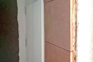 Auch Laibungen oder Stürze können ohne Zusatzarbeiten direkt mit den Wandplatten belegt werden<br />Fotos: Wolfgang Starke / Viaton