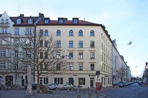 Nach der originalgetreuen Sanierung und Modernisierung fügt sich das Gebäude an der Ehrengutstraße 14 in München in das Quartier mit seinen Stadtvillen aus der Zeit des Historismus ein