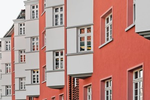 Bei der Fassadensanierung des Walkürenrings in Braunschweig konnten denkmalpflegerische Bedenken gegen die Verwendung eines WDVS zerstreut werden