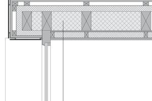 Detail Fensteranschluss<br />