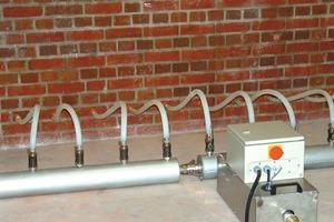 Hier kam ein Mauerwerkstrockner zum Einsatz, der bei der thermisch-konvektiven Trocknung neue Zeitmaßstäbe setzt<br />