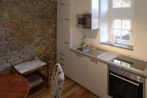 Küche der Wohung im ersten Obergeschoss<br />