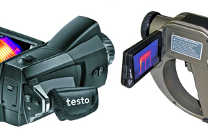 Thermografie für Fortgeschrittene bieten diese Kameramodelle von Testo und Testboy