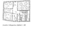 Grundriss 1. Obergeschoss, Maßstab 1:300<br />