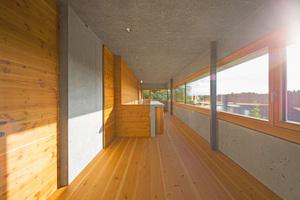Das Architektenehepaar hat für sich selbst gebaut und musste sich nicht streng an alle Vorschriften und Normen halten