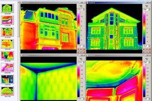 Beispiel für Anwendungsoberflächen für eine Thermografiekamera von Infratec