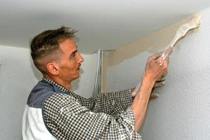 Daneben: Auf der Baustelle achten die Mitarbeiter des Malerbetriebs Stiebritz stets auf ein sauberes Ergebnis<br />