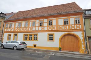 In Bayern gab es einen ersten Preis für die Restaurierung eines Hauses aus dem 15. Jahrhundert in Gerolzhofen