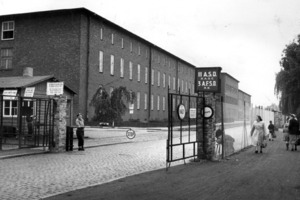 Historische Aufnahme des Bekleidungsamtes der Luftwaffe in Bielefeld<br />