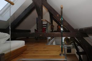Spitzboden der Dachgeschosswohnung<br />