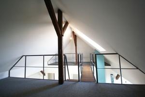 Galerie in der Dachgeschosswohnung<br />