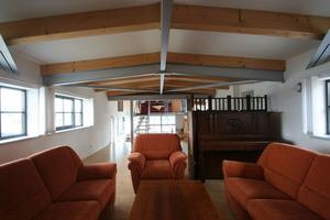 Die oberste Ferienwohnung unterm Dach des Silos<br />