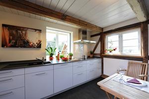 Küche im Erdgeschoss<br />