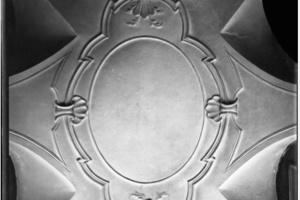 Stuckdetail (historische Aufnahme)<br />
