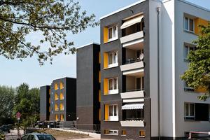 2. Preis Energieeffiziente Fassadendämmung:Wohnanlage in Hamburg, Fockenweide