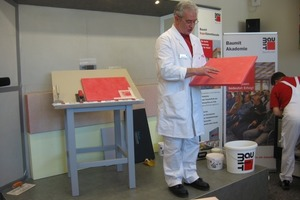 Auf dem 10. Allgäuer Baufachkongress werden in Oberstdorf vom 18. bis 20. Januar 2012 neben Fachvorträgen wieder praktische Anwendungen aus dem breit gefächerten Angebot des Bauhandwerks geboten<br />Foto: Thomas Wieckhorst<br />