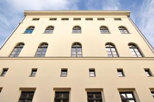 Sanierte Fassade Klosterstraße 5