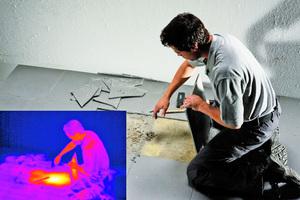 Thermografiekameras können Wärmelecks entecken, Leitungen oder Leckagen orten und zahlreiche weitere Probleme und Mängel erkennen