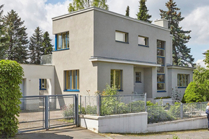 Die Sanierung des von Thilo Schoder in Gera entworfenen Hauses Sparmberg wurde in 2016 abgeschlossen