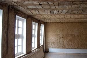 Ziel der Sanierung war der Erhalt des Gebäudes in seiner gesamtgeschichtlichen Struktur. Umfassende Schäden erforderten eine grundlegende Sanierung<br />