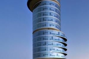 Nach Abschluss der Bauarbeiten in diesem Jahr ist aus dem Bochumer Bunker ein 89 m hohes Hochhaus geworden