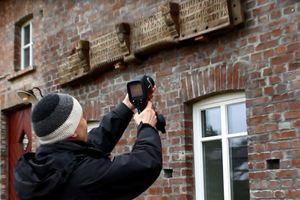 Untersuchung mit der Thermografiekamera von Flir von außen<br />