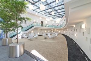 """Der 2. Platz in der Kategorie Trockenbau ging an die G+K Trockenbau GmbH aus Neuwied-Engers für das Hotel Schloss Montabaur, Haus Coblenz <span class=""""bildnachweis"""">Foto: pix123 fotografie frankfurt</span>"""
