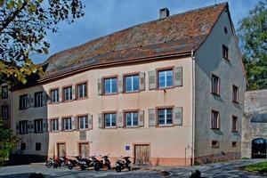 Das im Kern aus dem  13. Jahrhundert stammende Abt-Gaisser-Haus stand vor Beginn der Arbeiten 30 Jahre lang leer