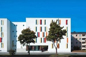 In München ging ein Preis an die GWG Städtische Wochnungsgesellschaft für die Modernisierung, Aufstockung und den Neubau einer Wohnanalge in München<br />