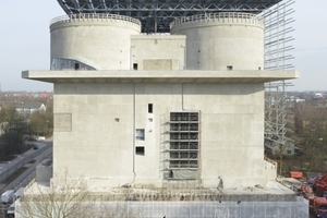 Seit März dieses Jahres ist der zum Energiespeicher umgebaute Flakbunker in Hamburg Wilhelmsburg für die Öffentlichkeit zu-gänglich