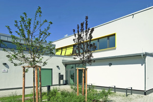 """In der Kategorie Öffentliche Gebäude wurde nur ein 1. Preis verliehen. Diesen gab es für ein neu erbautes Familienzentrum in Rodgau<span class=""""bildnachweis"""">Foto: Axel Stephan / Brillux</span>"""