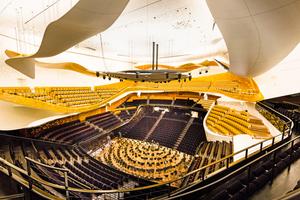 "Die Ile de France Plâtrerie aus Frankreich erhielt für die Philharmonie de Paris den Grand Prix 2016<span class=""bildnachweis"">Foto: Raphael Demaret</span>"
