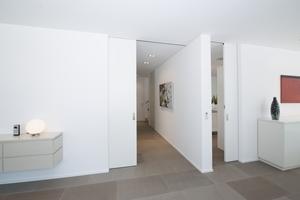 Die Raumstruktur ist in der Krefelder Villa von offenen Grundrissen gekennzeichnet<br />