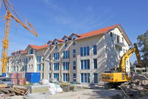 In Baar-Ebenhausen entstanden zwei Häuser für betreutes Wohnen und ein Pflegeheim