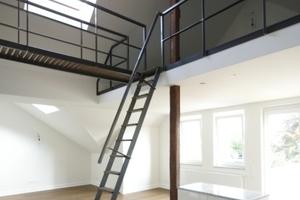 Wohnung im Dachgeschoss mit Galerieebene<br />