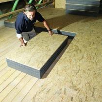 Bevorzugt Sofort begehbare Dachbodendämmung - bauhandwerk OY86