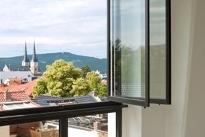 Fensterdetail im Flur<br />